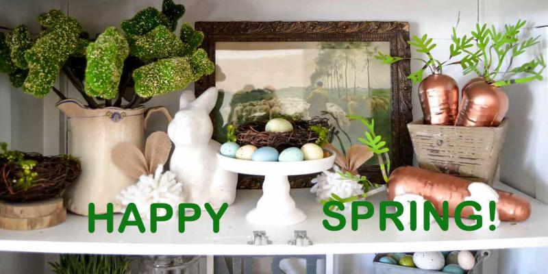 Shop California Decor Store for Spring Soaps, Home Decor, Gifts