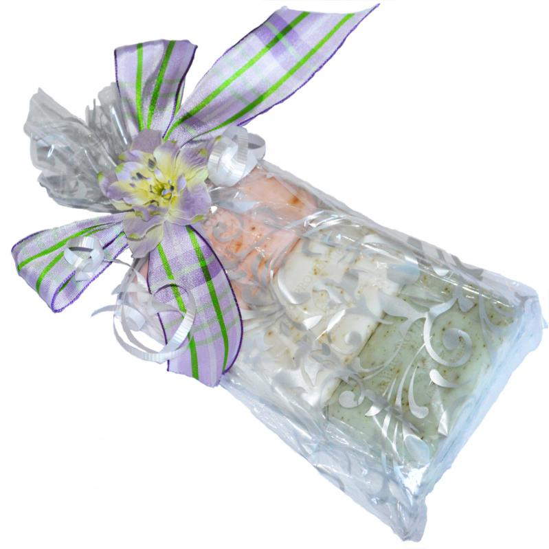 Gift Pack Pre de Provence Spring Exfoliating 150 Gram Bars Collection