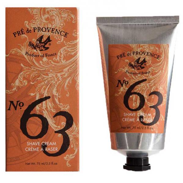 Pre de Provence No.63 Mens Shea Butter Shave Cream 2.5 Oz.