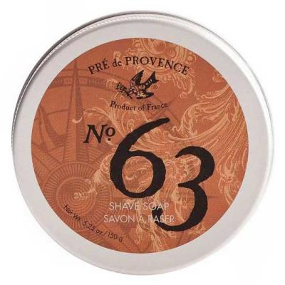 Pre de Provence No.63 Mens Shea Butter Shave Soap 150 Gram