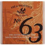 Pre de Provence No.63 Mens Shea Butter Soap 200 Gram Bar