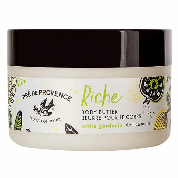 Pre de Provence Riche Body Butter White Gardenia 200 ml with Shea Butter