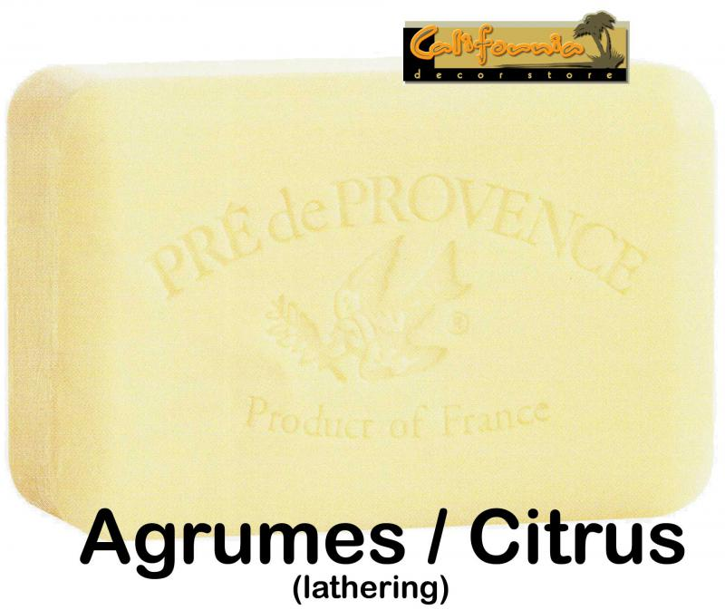 Pre de Provence Soap Agrumes Citrus 150 gram lathering Bath Shower Bar