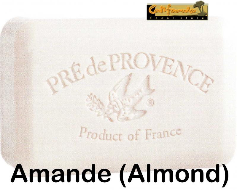 Pre de Provence Soap Amande Almond 250 gram lathering Bath Shower Bar