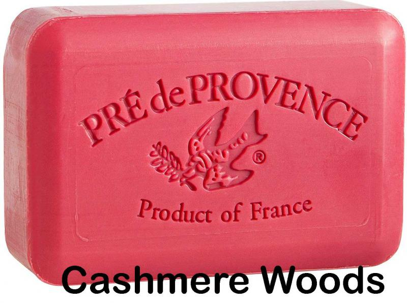 Pre de Provence Soap Cashmere Woods 250 gram lathering Bath Shower Bar