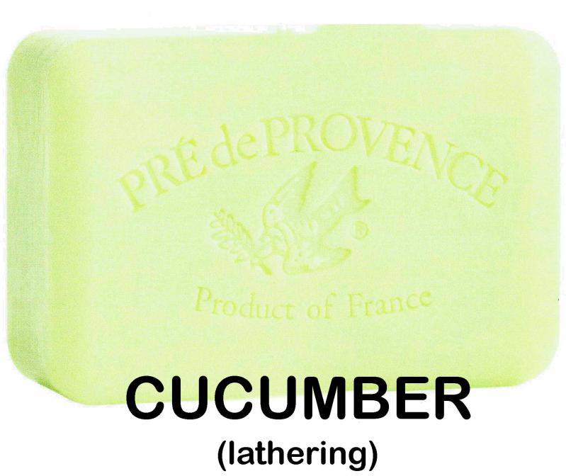 Pre de Provence Soap Cucumber 250 gram lathering Bath Shower Bar