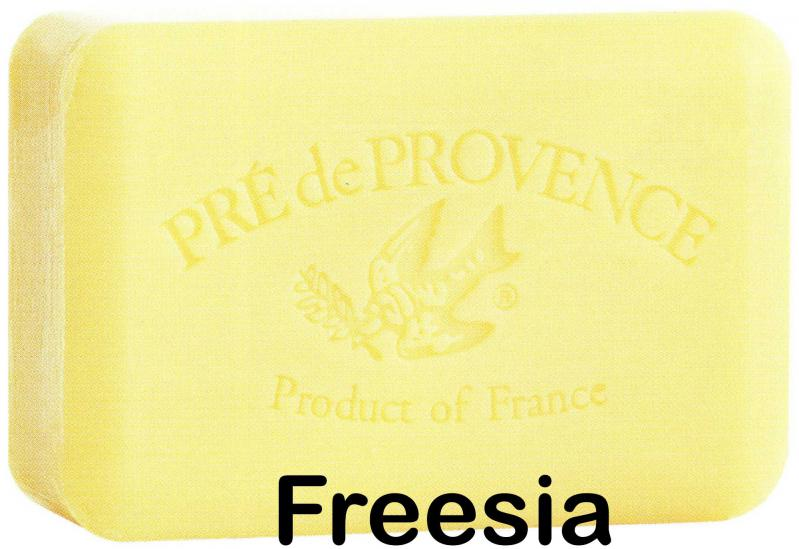 Pre de Provence Soap Freesia 150 gram lathering Bath Shower Bar