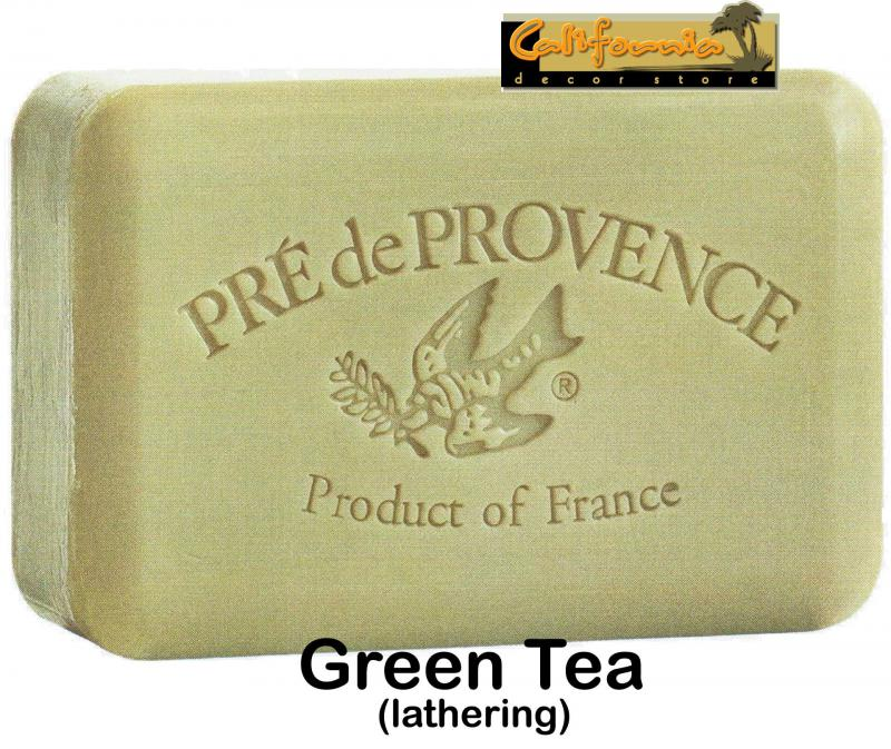 Pre de Provence Soap Green Tea 250 gram lathering Bath Shower Bar
