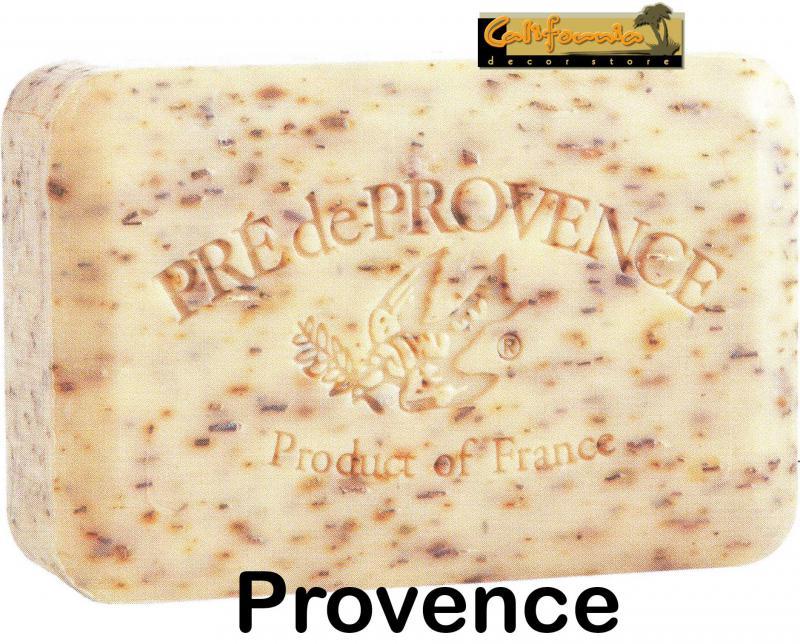 Pre de Provence Soap Herbs of Provence 250 gram exfoliating Bath Shower Bar