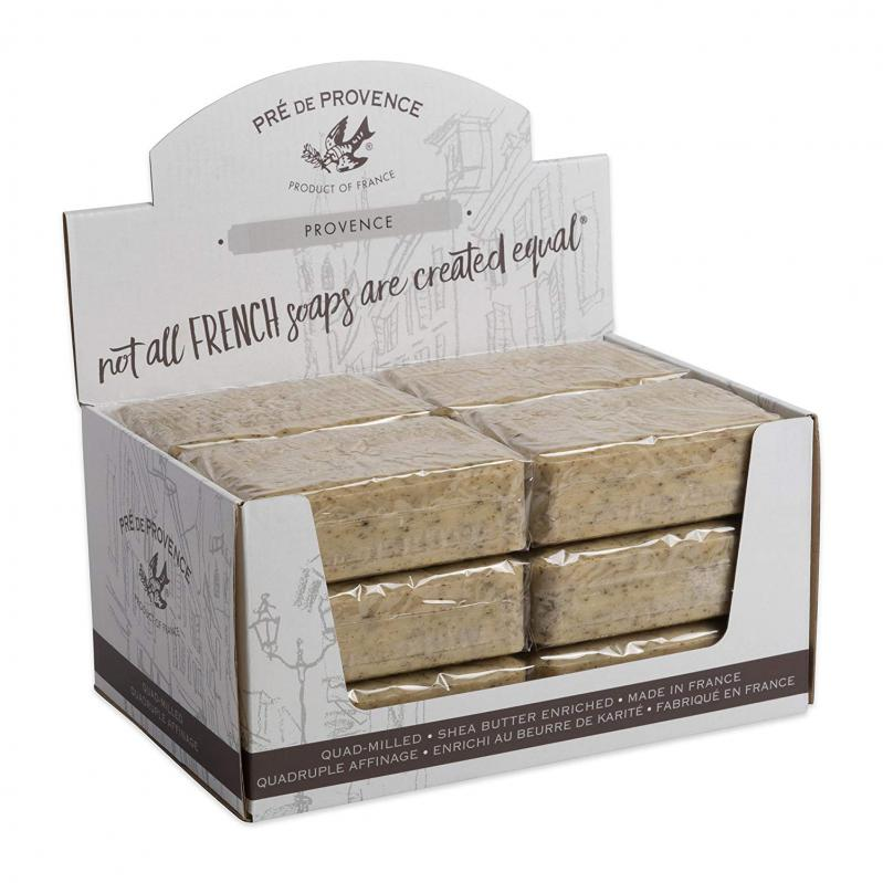 Pre de Provence Soap Herbs of Provence 250 gram Bath Shower Bar Case of 12