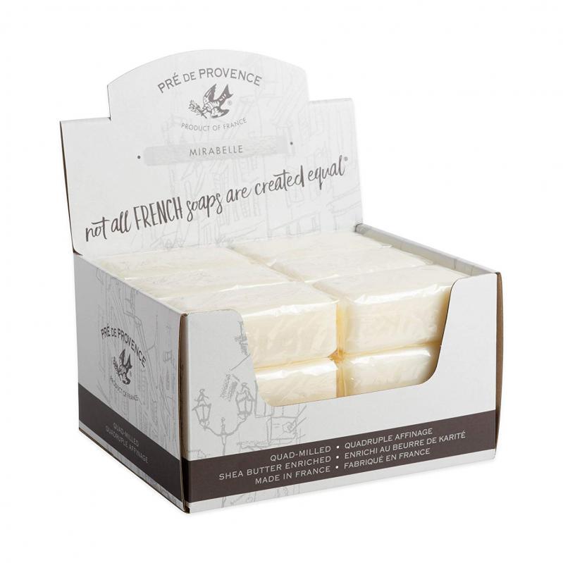 Pre de Provence Soap Mirabelle 150 gram Bath Shower Bar Case of 18