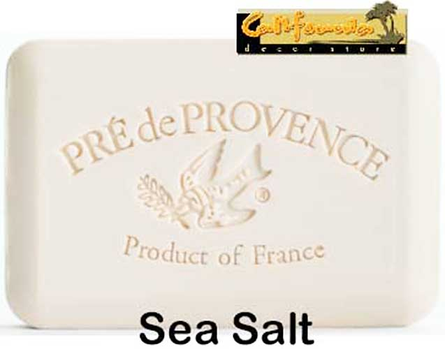 Pre de Provence Soap Sea Salt 250 gram lathering Bath Shower Bar