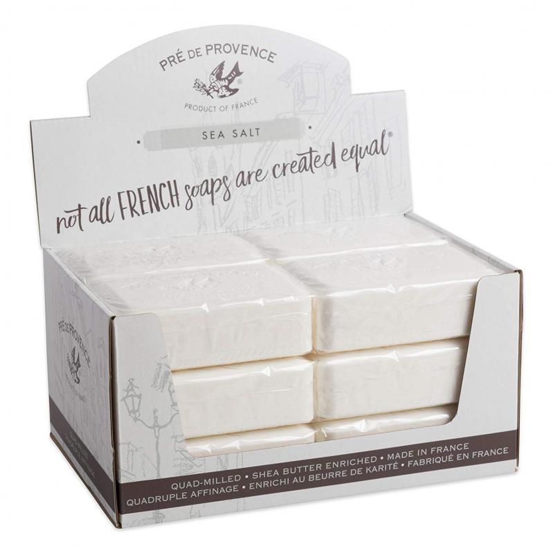 Pre de Provence Soap Sea Salt 250 gram Bath Shower Bar Case of 12