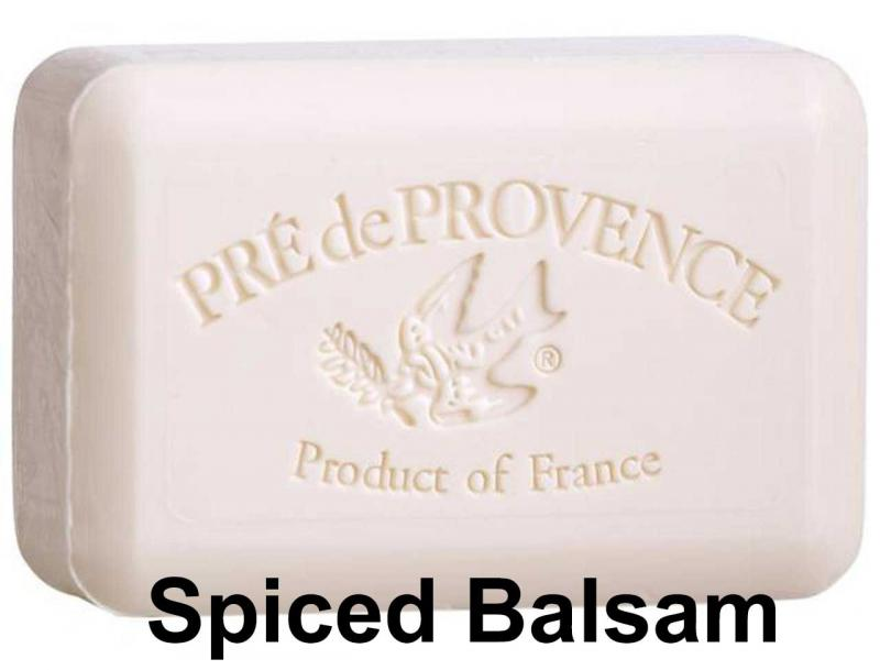 Pre de Provence Soap Spiced Balsam 150 gram lathering Bath Shower Bar