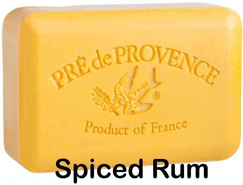 Pre de Provence Soap Spiced Rum 150 gram lathering Bath Shower Bar