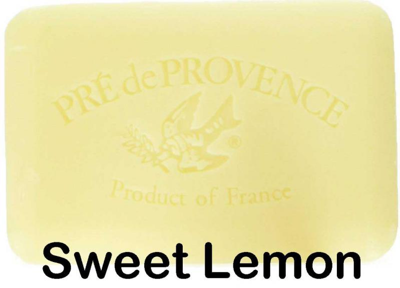 Pre de Provence Soap Sweet Lemon 250 gram lathering Bath Shower Bar