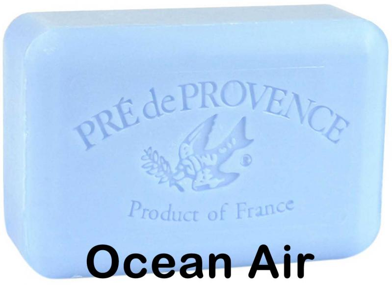 Pre de Provence Soap Ocean Air 250 gram lathering Bath Shower Bar