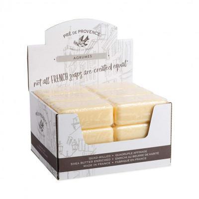 Pre de Provence Soap Agrumes Citrus 150 gram Bath Shower Bar Case of 18