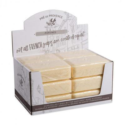 Pre de Provence Soap Agrumes Citrus 250 gram Bath Shower Bar Case of 12