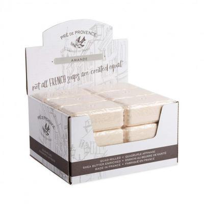 Pre de Provence Soap Amande 150 gram Bath Shower Bar Case of 18