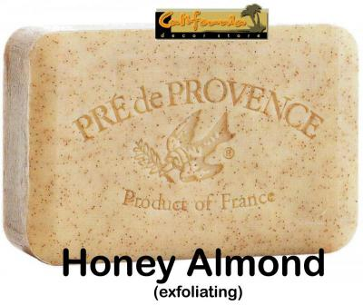 Pre de Provence Soap Honey Almond 150 gram Bath Shower Bar