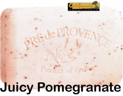 Pre de Provence Soap Juicy Pomegranate 150 gram Bath Shower Bar