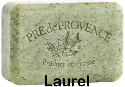 Pre de Provence Soap Laurel 150 gram Bath Shower Bar