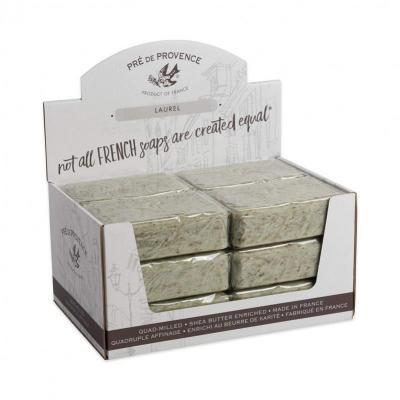 Pre de Provence Soap Laurel 250 gram Bath Shower Bar Case of 12