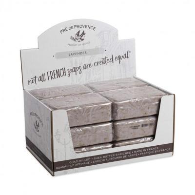 Pre de Provence Soap Lavender 250 gram Bath Shower Bar Case of 12
