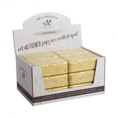 Pre de Provence Soap Lemongrass 250 gram Bath Shower Bar Case of 12