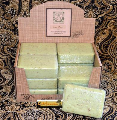 Pre de Provence Soap Lime Zest 250 gram Bath Shower Bar Case of 12