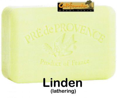 Pre de Provence Soap Linden 150 gram lathering Bath Shower Bar