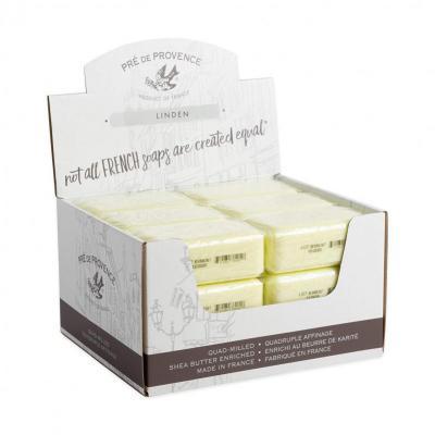 Pre de Provence Soap Linden 150 gram Bath Shower Bar Case of 18