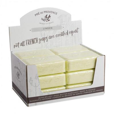 Pre de Provence Soap Linden 250 gram Bath Shower Bar Case of 12