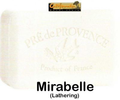 Pre de Provence Soap Mirabelle 150 gram lathering Bath Shower Bar