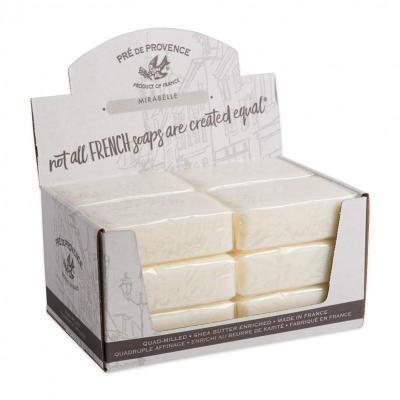 Pre de Provence Soap Mirabelle 250 gram Bath Shower Bar Case of 12