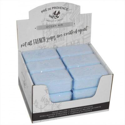 Pre de Provence Soap Ocean Air 150 gram Bath Shower Bar Case of 18