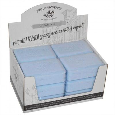 Pre de Provence Soap Ocean Air 250 gram Bath Shower Bar Case of 12