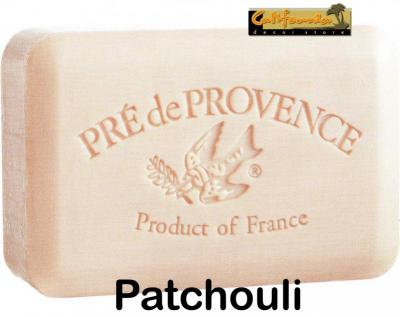 Pre de Provence Soap Patchouli 250 gram Bath Shower Bar