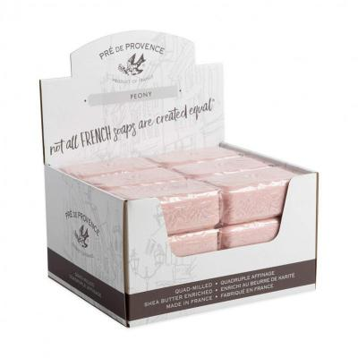 Pre de Provence Soap Peony 150 gram Bath Shower Bar Case of 18