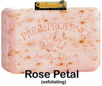 Pre de Provence Soap Rose Petal 150 gram Bath Shower Bar
