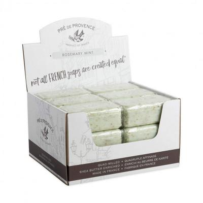Pre de Provence Soap Rosemary Mint 150 gram Bath Shower Bar Case of 18