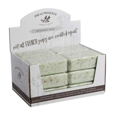 Pre de Provence Soap Rosemary Mint 250 gram Bath Shower Bar Case of 12