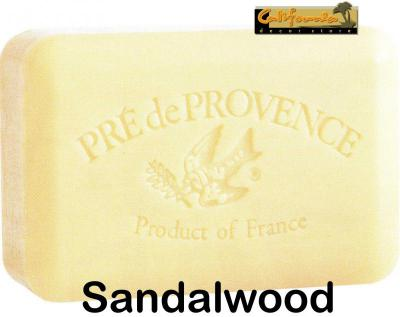Pre de Provence Soap Sandalwood 250 gram Bath Shower Bar