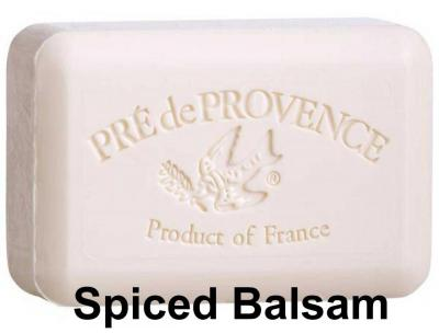Pre de Provence Soap Spiced Balsam 150 gram Bath Shower Bar