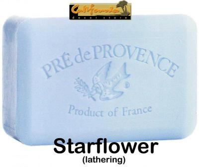 Pre de Provence Soap Starflower 250 gram Bath Shower Bar