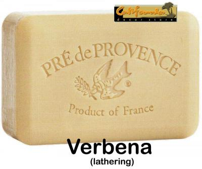 Pre de Provence Soap Verbena 250 gram lathering Bath Shower Bar