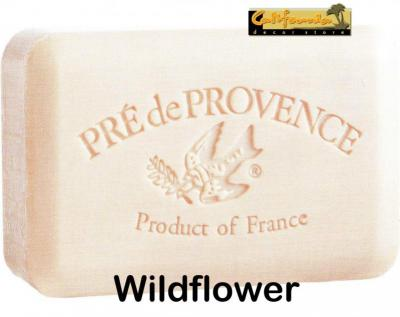 Pre de Provence Soap Wildflowers 150 gram lathering Bath Shower Bar