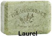 Pre de Provence Soap Laurel 150 gram exfoliating Bath Shower Bar