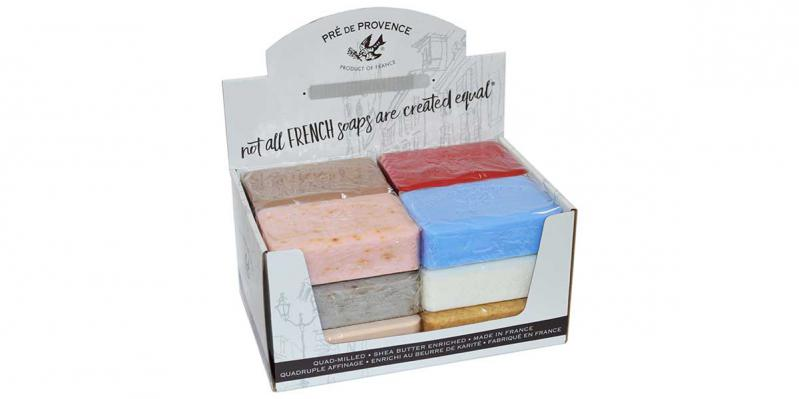 Pre de Provence Assorted Heritage Series 250 Gram Soap Bars Case